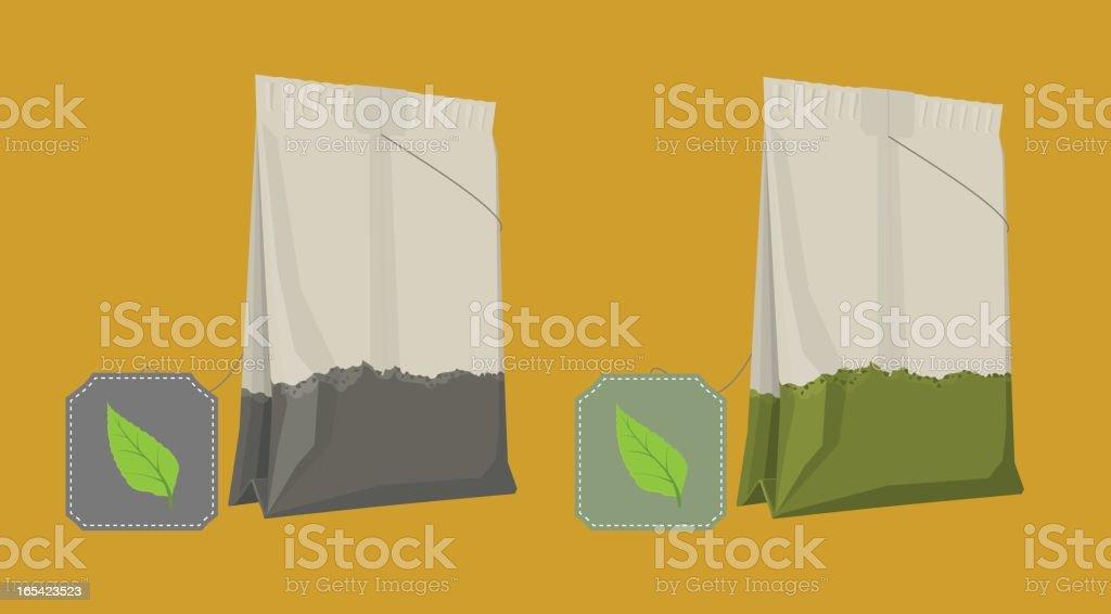 Tea Bags royalty-free tea bags stock vector art & more images of alternative medicine