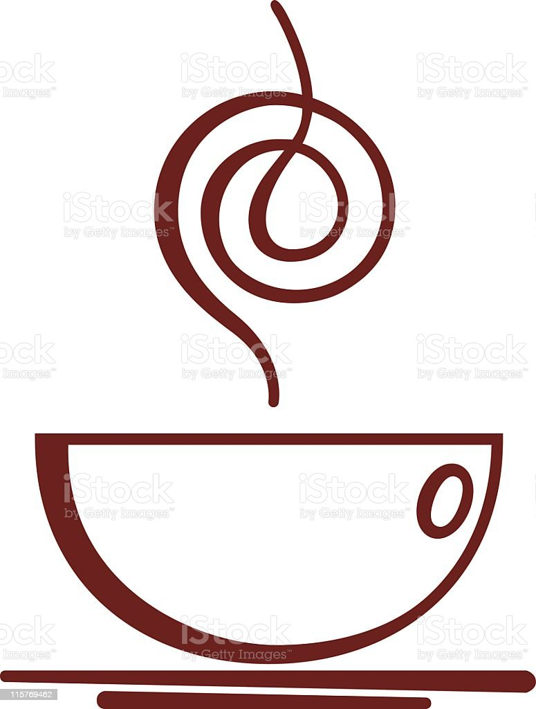 tea - coffee cup illustration royalty-free stock vector art