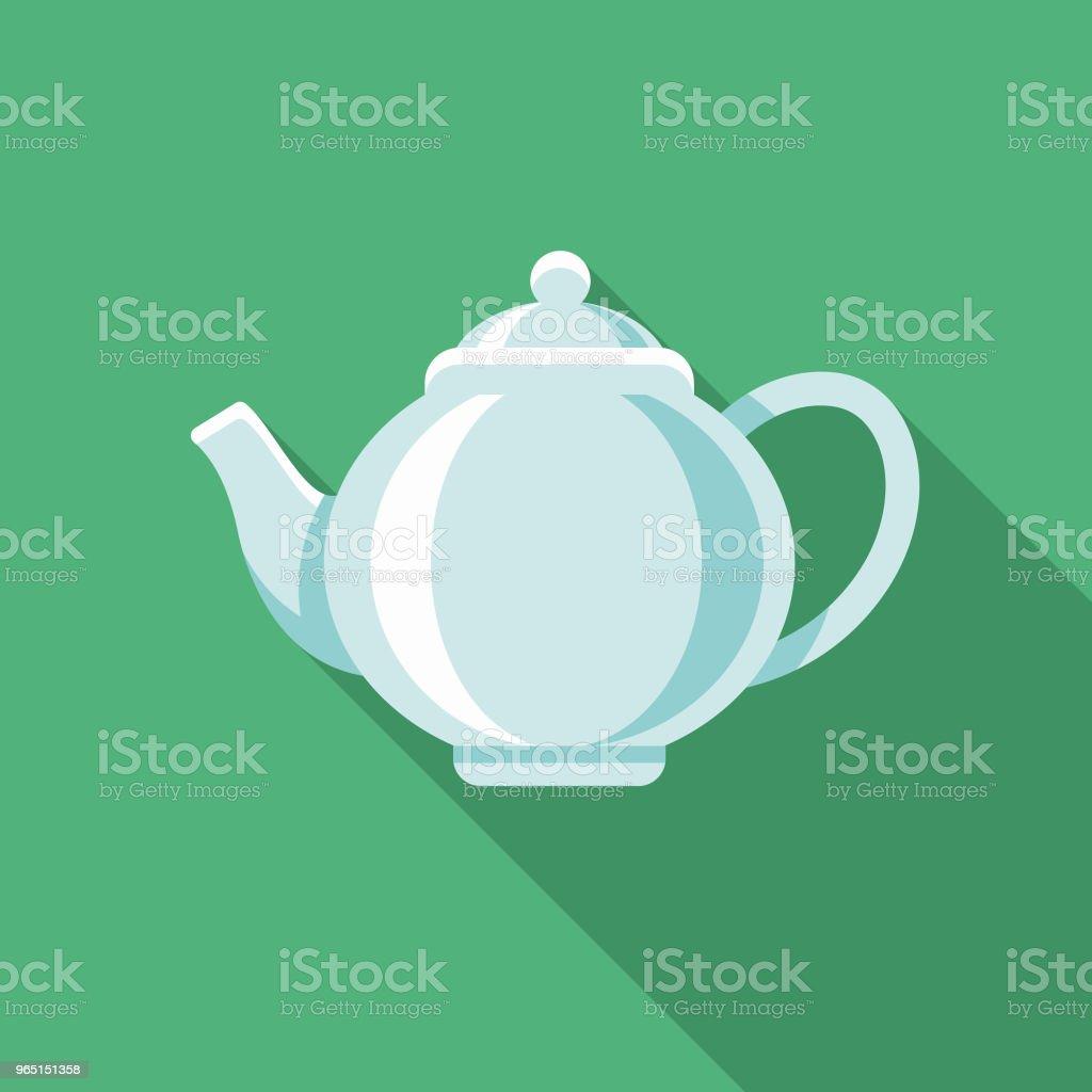 Tea Flat Design Winter Icon with Side Shadow tea flat design winter icon with side shadow - stockowe grafiki wektorowe i więcej obrazów bez ludzi royalty-free