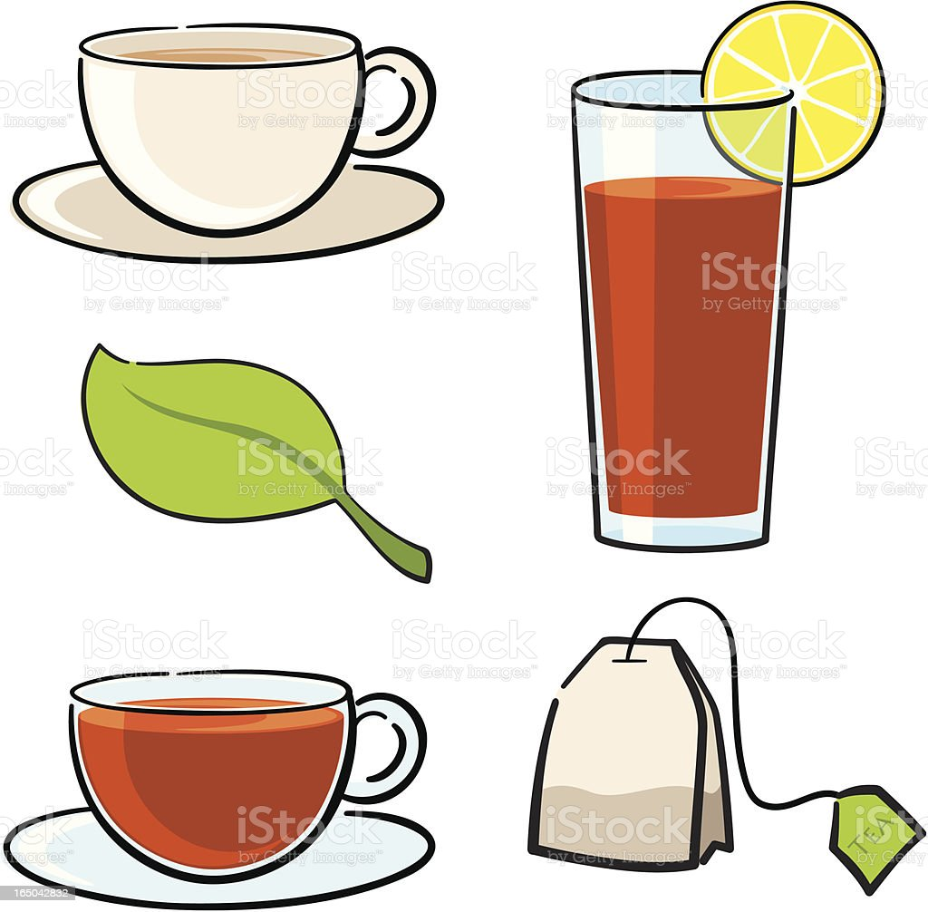 Tea for Two - incl. jpeg royalty-free tea for two incl jpeg stock vector art & more images of black tea