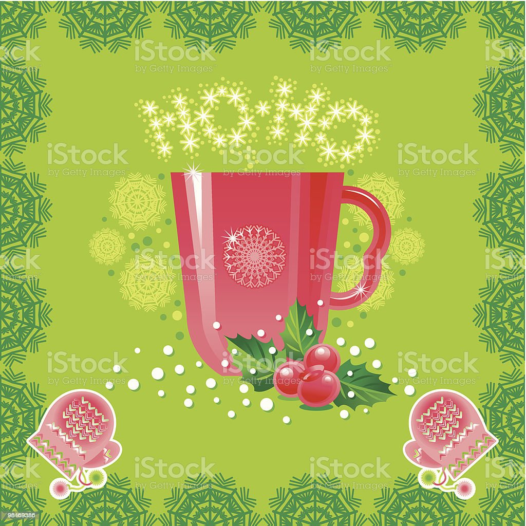 Tea from Santa royalty-free tea from santa stock vector art & more images of berry