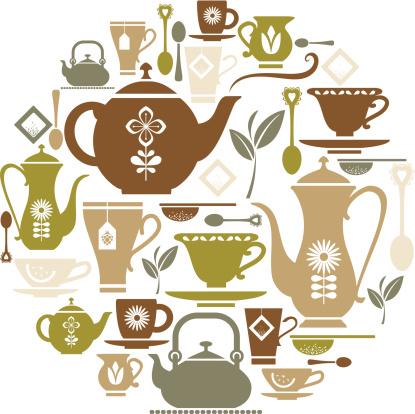 Tea Icon Set