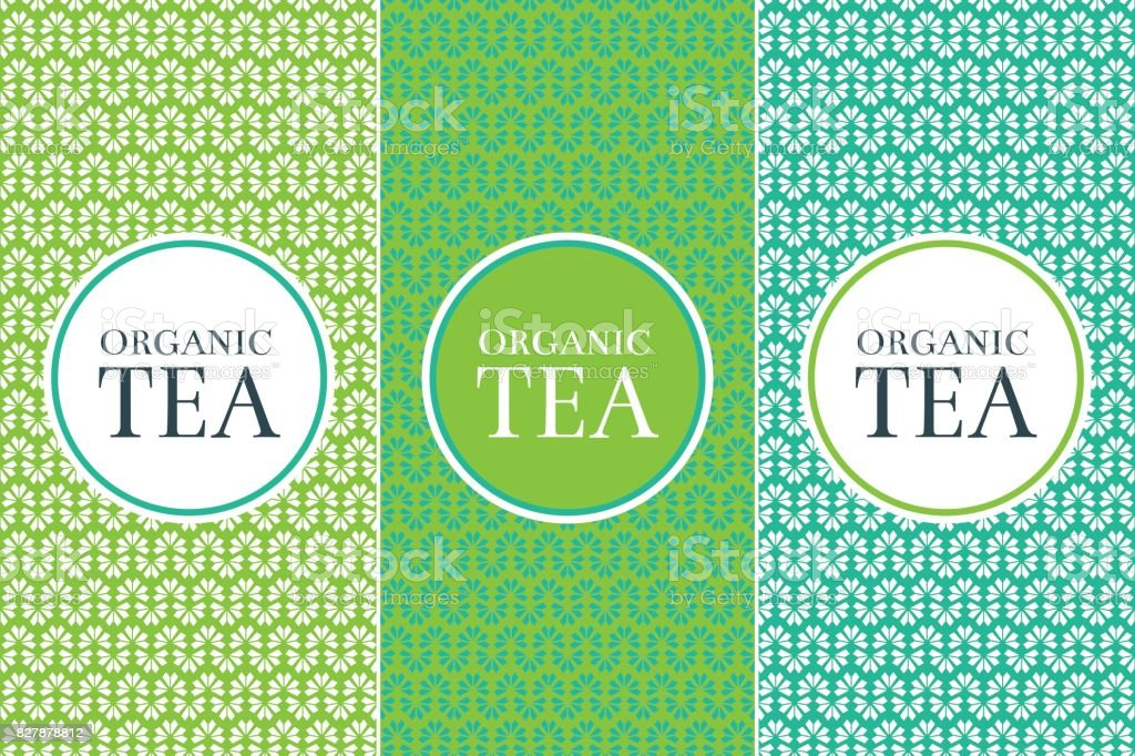 Tea Package set template vector vector art illustration