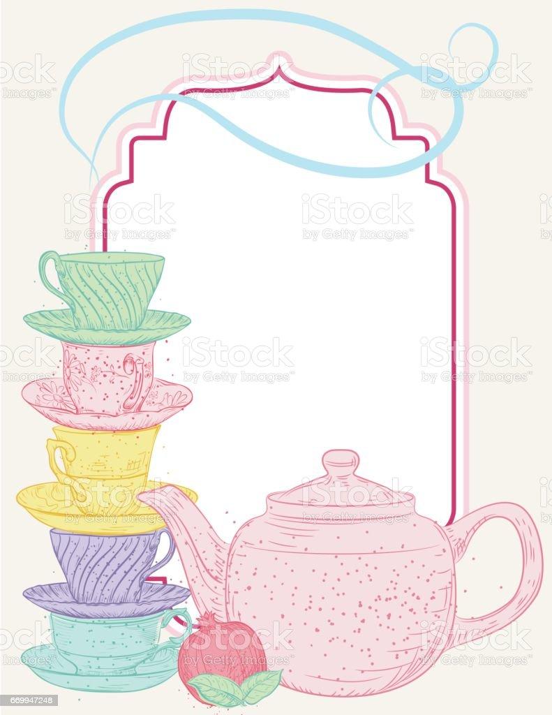 royalty free tea party clip art vector images illustrations istock rh istockphoto com boston tea party clipart tea party clipart black and white