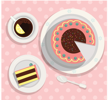 Cake stock illustrations