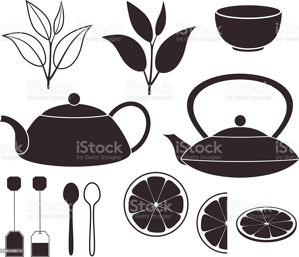 Tea royalty-free tea stock vector art & more images of agriculture