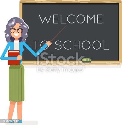 Lehrer Buch Weibliche Studie Schüler Student Klasse Bildung Lektion ...