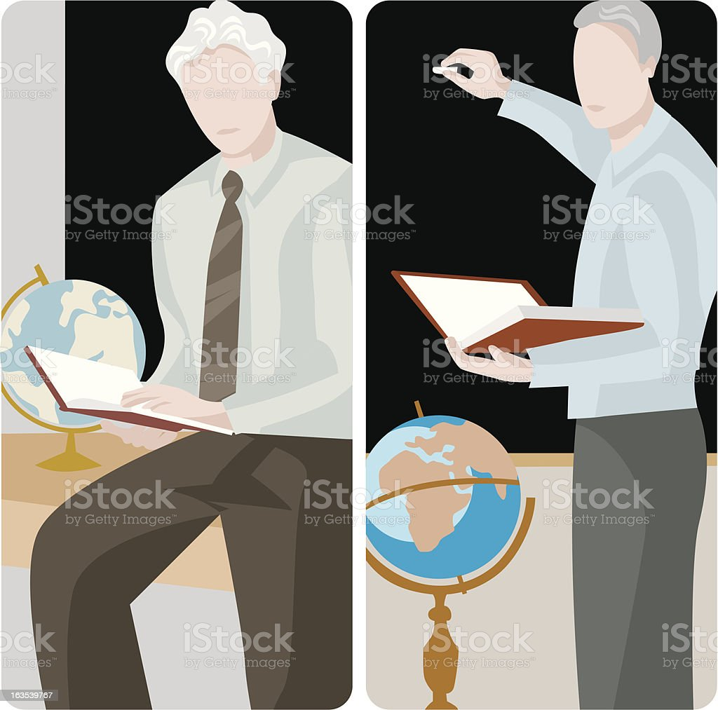 Teacher Illustrations Series royalty-free teacher illustrations series stock vector art & more images of blackboard