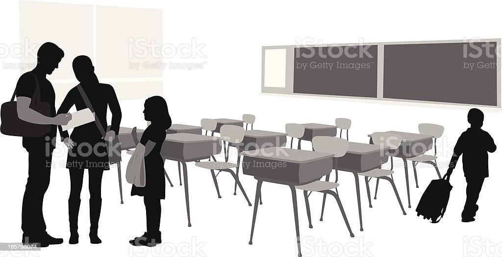 TeacherParent – Vektorgrafik