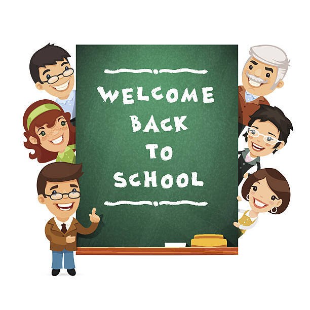 Royalty Free Welcome Back Clip Art, Vector Images