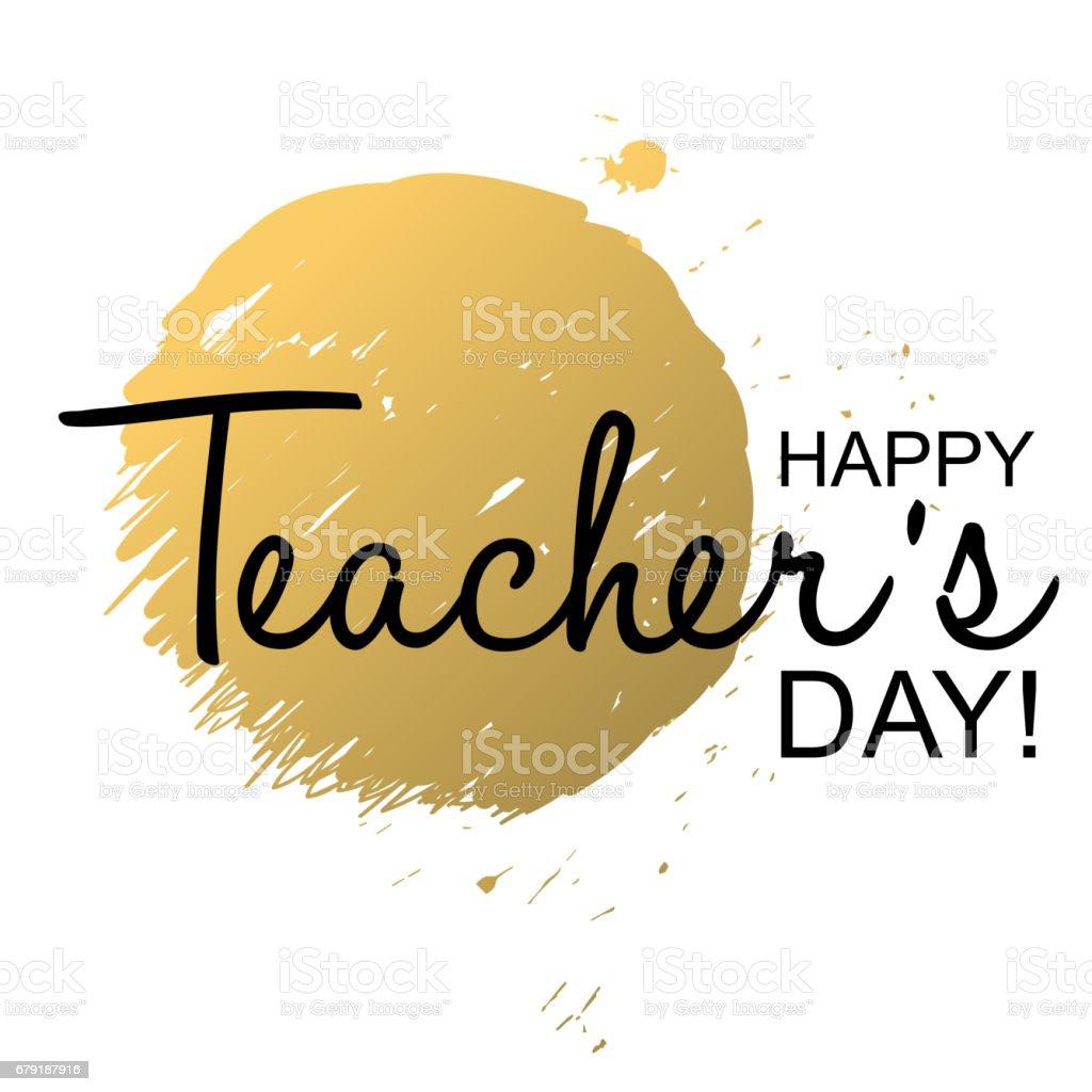 Teachers Day Holidays card template for Design, Website, Banner.