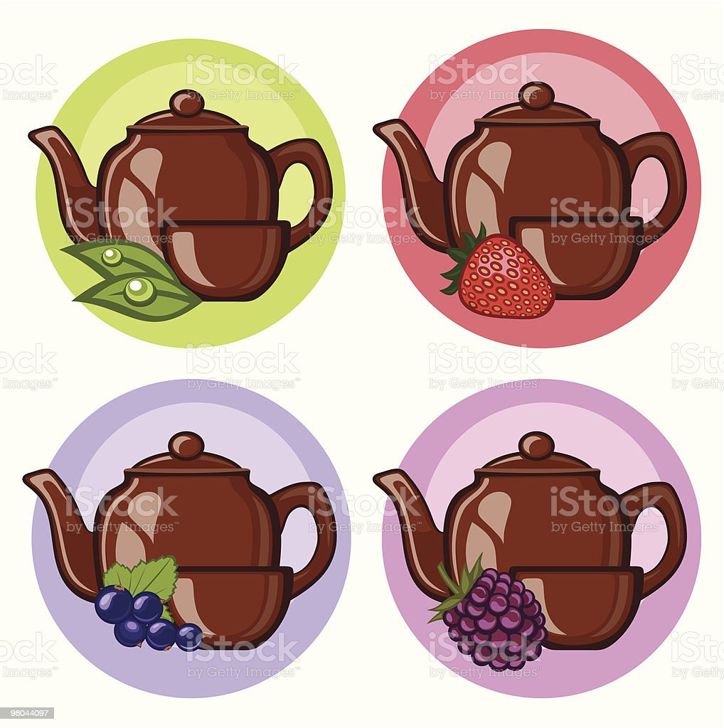 teakettle royalty-free teakettle stock vector art & more images of berry fruit