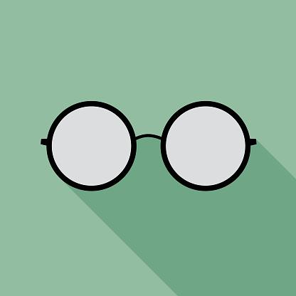 Teal Eyeglasses Icon 10