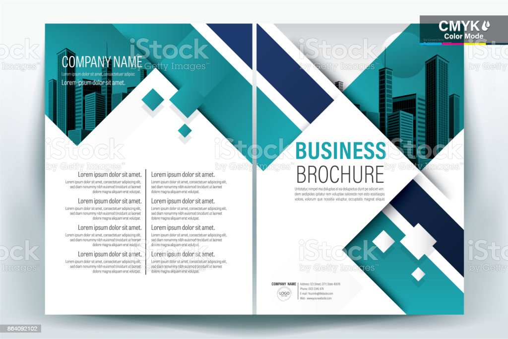 Teal Poster Brochure Flyer design Layout background vector template A4 royalty-free teal poster brochure flyer design layout background vector template a4 stock vector art & more images of advertisement