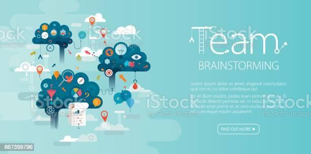 Team brainstorming web banner blue background vector id667399796?b=1&k=6&m=667399796&s=612x612&h=ndjqhjdrr6ovf18ew9spdppx57v4faetuo7 bojfpdu=