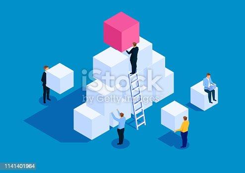 istock Team development business concept 1141401964