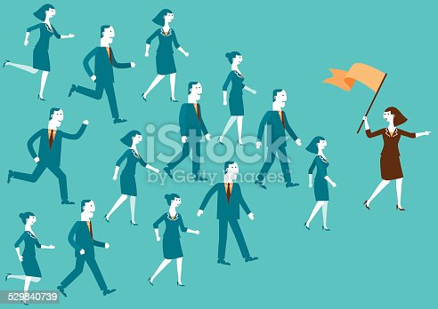 istock Team Leader Showing The Way | New Biz 529840739