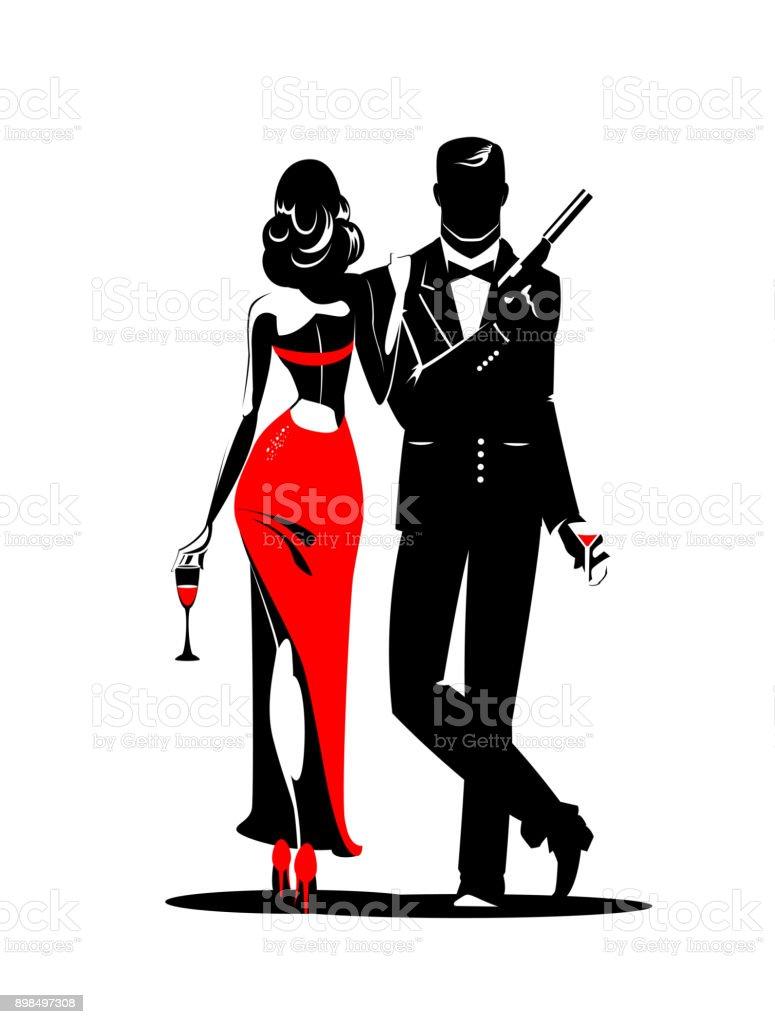 royalty free secret agent man clip art vector images rh istockphoto com secret agent clipart female secret agent clipart