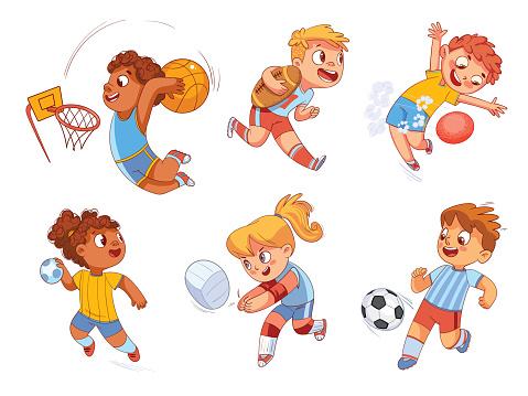 Team sport. Volleyball, football, basketball, rugby, handball, dodgeball