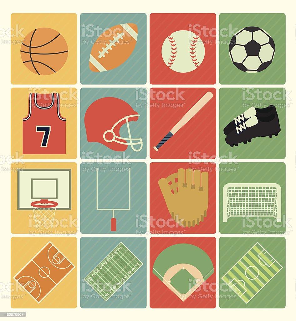 96e51f823 Ícones do esporte de equipe vetor de ícones do esporte de equipe e mais  banco de
