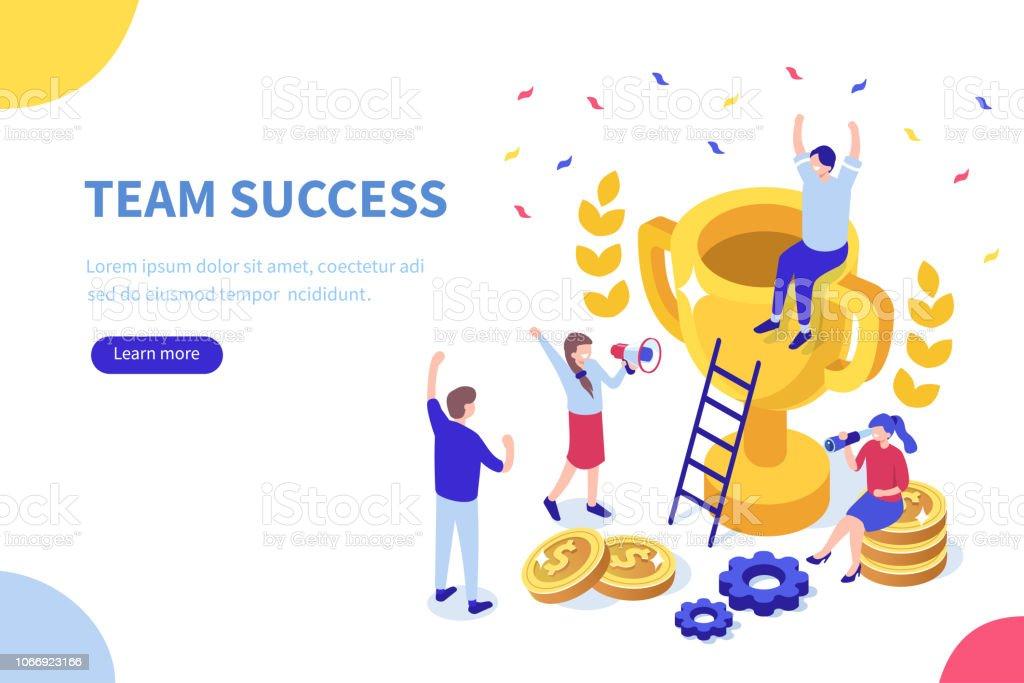 team - Grafika wektorowa royalty-free (Biznes)