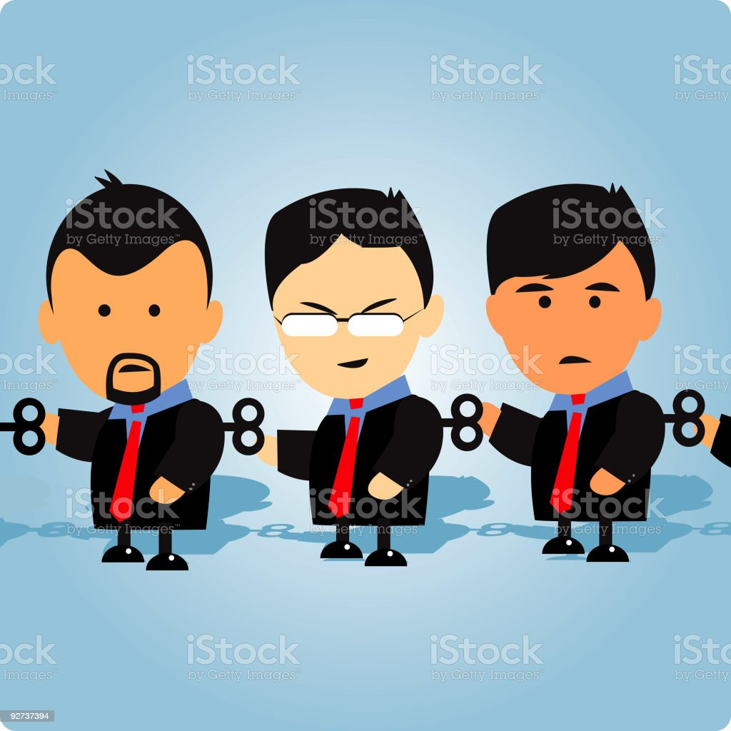 team work - Royalty-free Accidents and Disasters stock vector