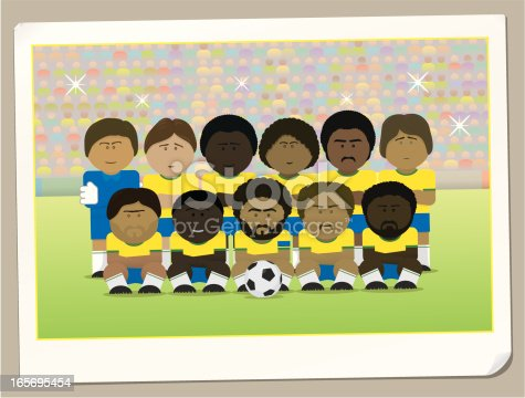 istock Team yellow 165695454