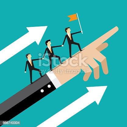 Graph, Leadership, Teamwork, Business, Success