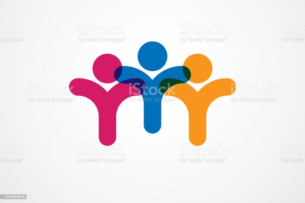 Teamwork Businessman Unity And Cooperation Concept Created With
