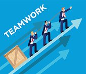 Teamwork Concept Illustration