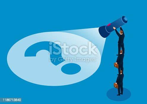 istock Teamwork finds problems and finds solutions 1186713840