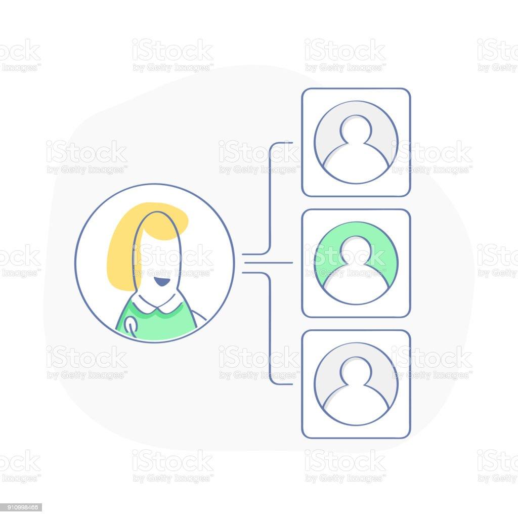 Teamwork flow chart company organization branches workflow teamwork flow chart company organization branches workflow management vector illustration royalty nvjuhfo Image collections