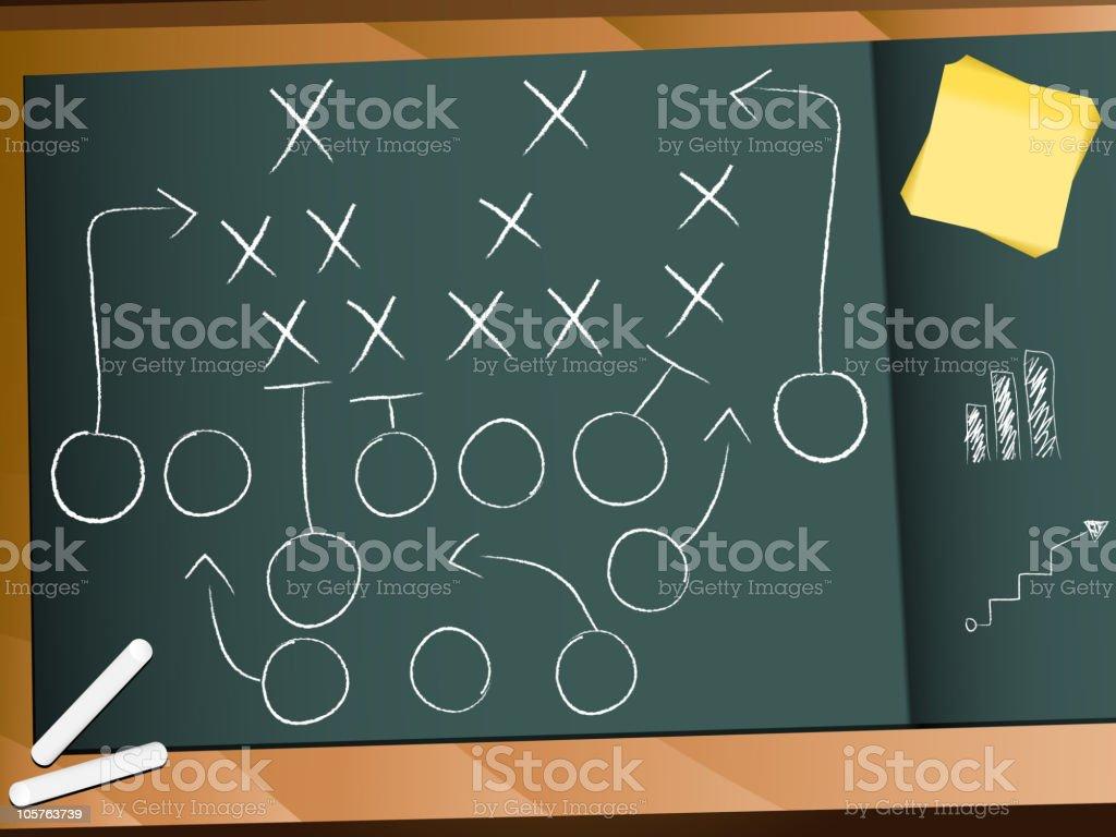 Teamwork Football Game Plan Strategy