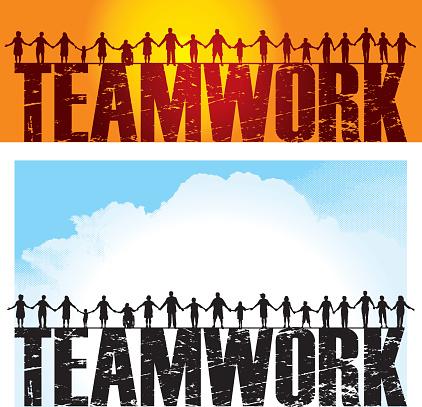 Teamwork - Holding Hands, Success