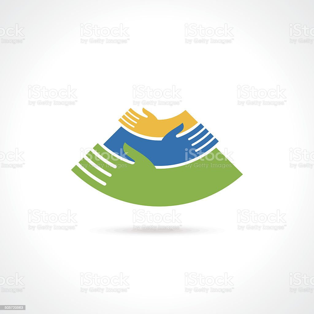 teamwork idea illustration vector art illustration