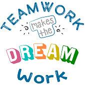 istock Teamwork makes the dream work 1304512480