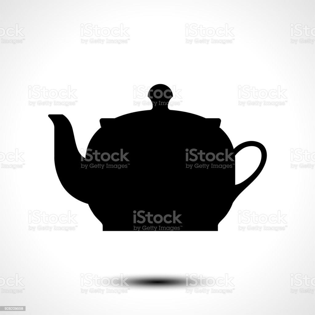 Teekanne Wasserkocher Tee Wasserkocher Symbol Teekanne Wasserkocher ...