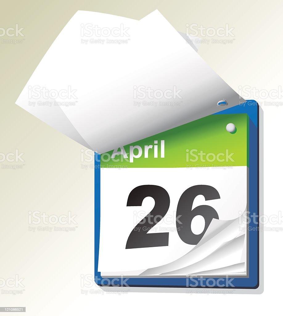 Calendario A Strappo.Calendario A Strappo Immagini Vettoriali Stock E Altre