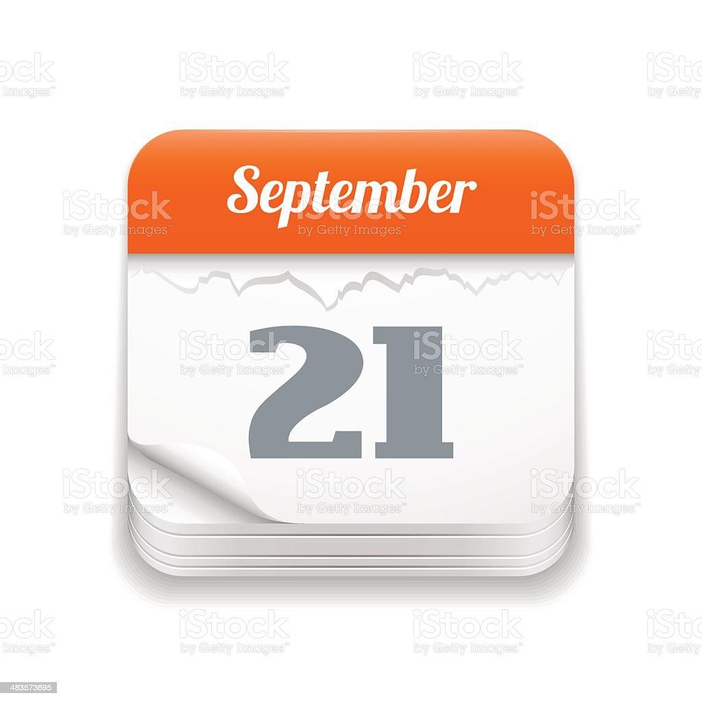 Calendario A Strappo.Icona Calendario A Strappo Immagini Vettoriali Stock E