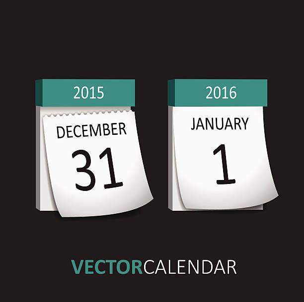 Träne-off-Neujahr – Vektorgrafik