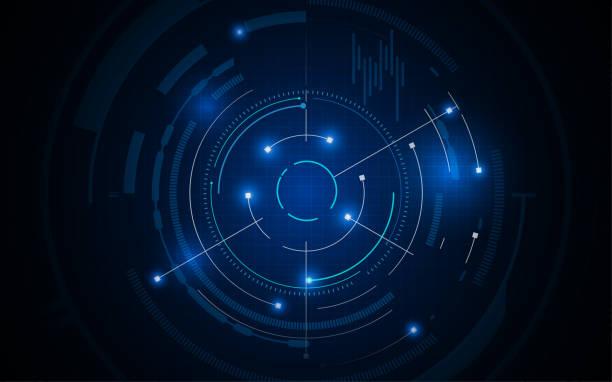 Tech digitale Muster innovatives Konzept Hintergrund – Vektorgrafik