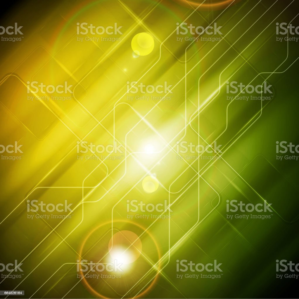 Tech glossy abstract yellow green background royalty-free tech glossy abstract yellow green background stock vector art & more images of abstract
