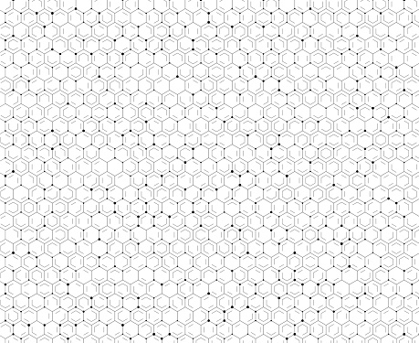 tech hexagon pattern