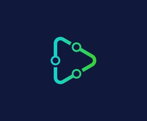 Tech-Logo – Vektorgrafik