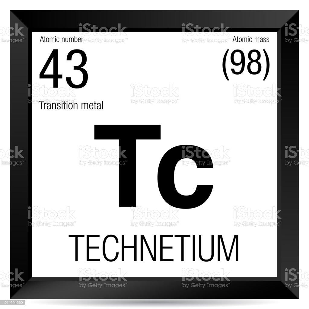 Technetium symbol element number 43 of the periodic table of the technetium symbol element number 43 of the periodic table of the elements chemistry royalty urtaz Images