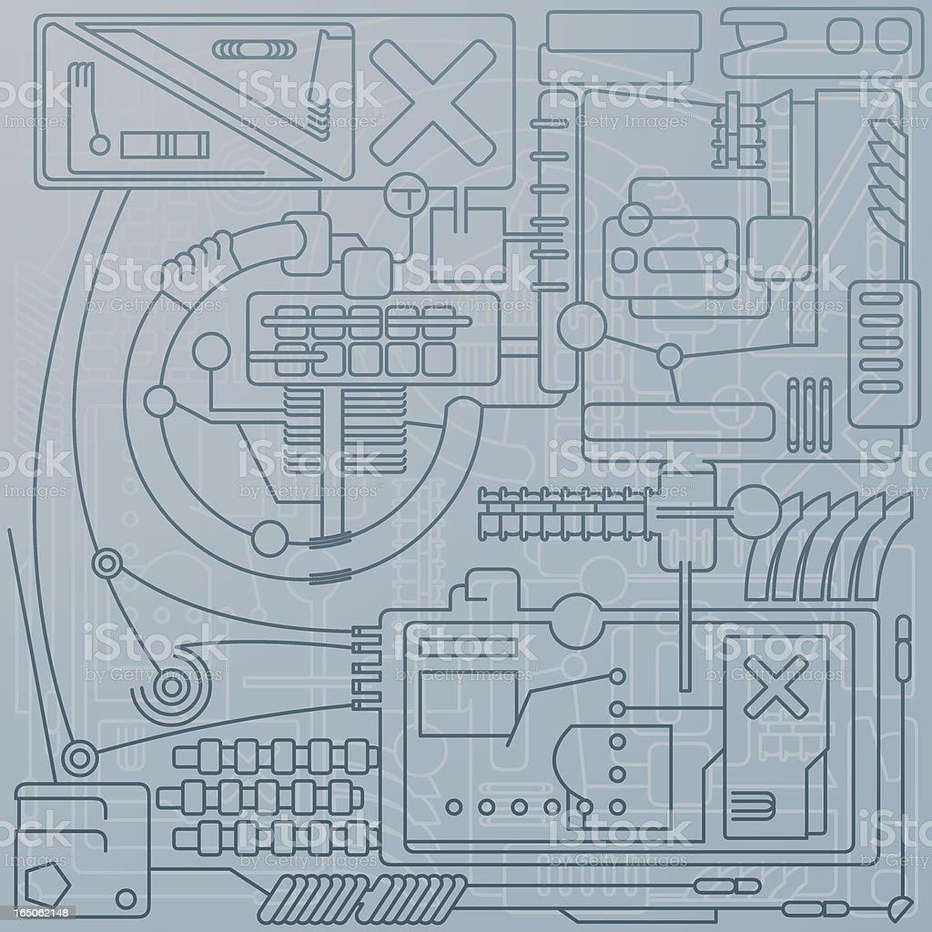 Technic royalty-free stock vector art
