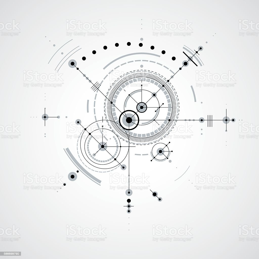 Technical blueprint black and white vector digital background stock technical blueprint black and white vector digital background royalty free technical blueprint black and malvernweather Image collections
