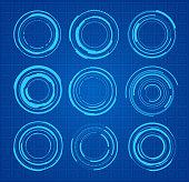 HUD - technical circles