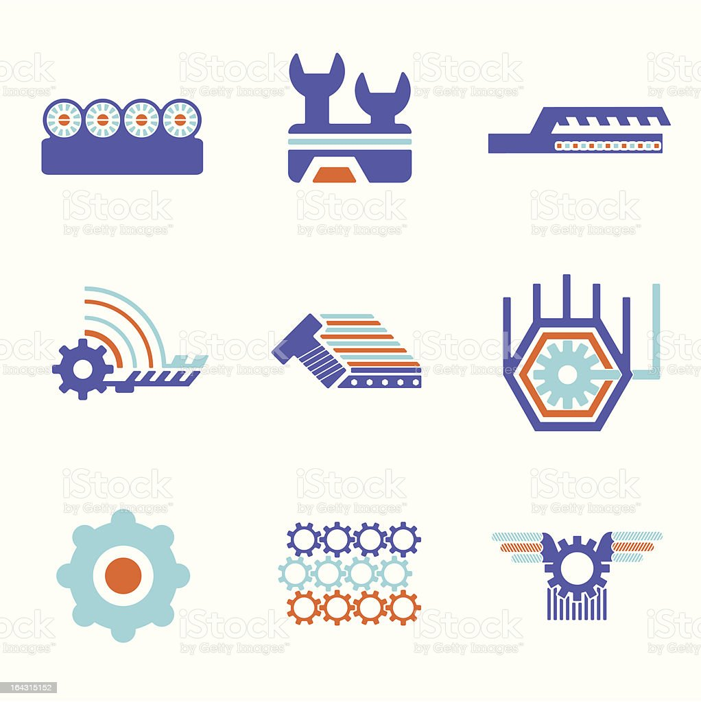 Technical Design Elements royalty-free technical design elements stock vector art & more images of abstract