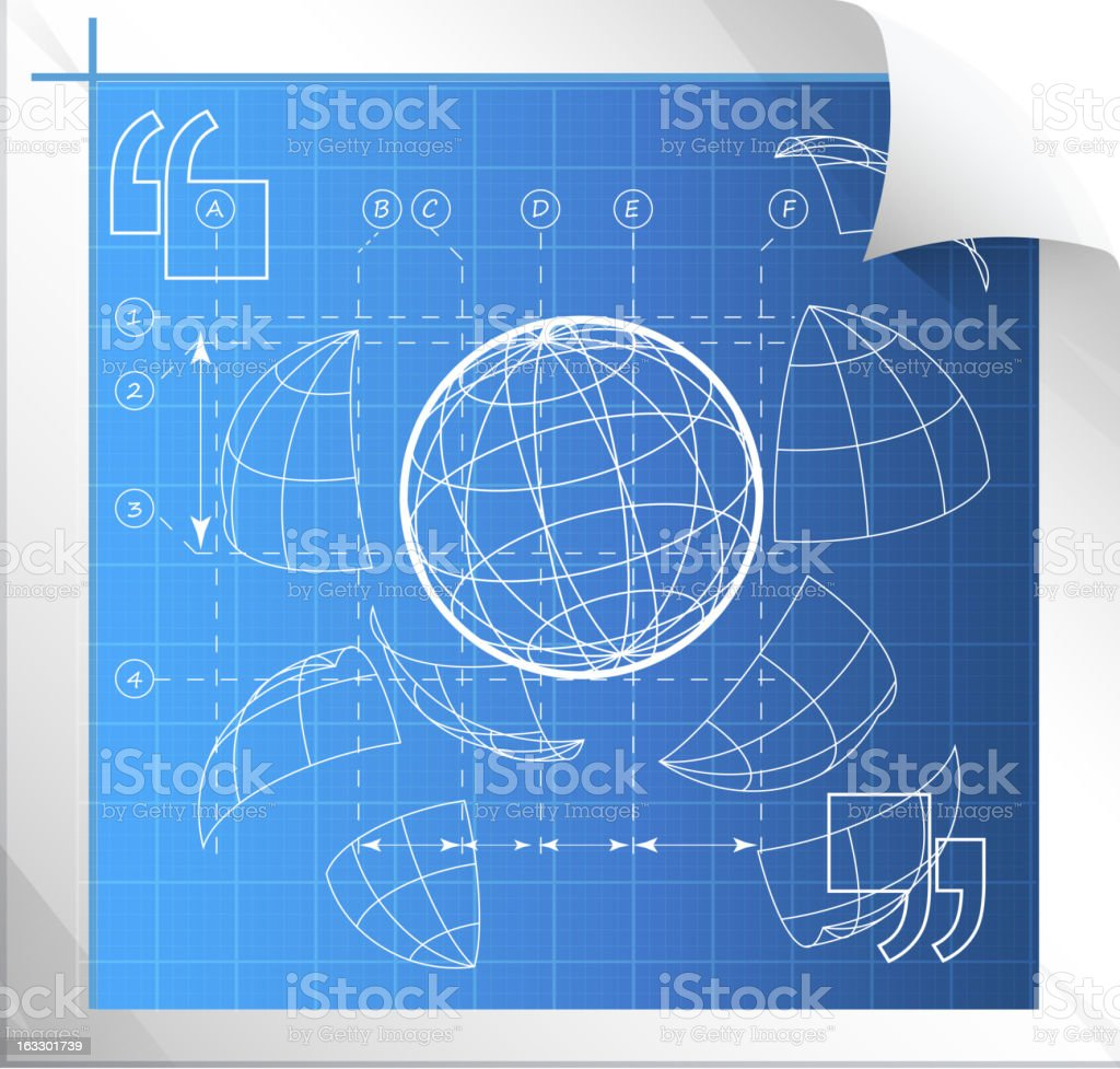 Technical Drawing royalty-free technical drawing stock vector art & more images of blueprint